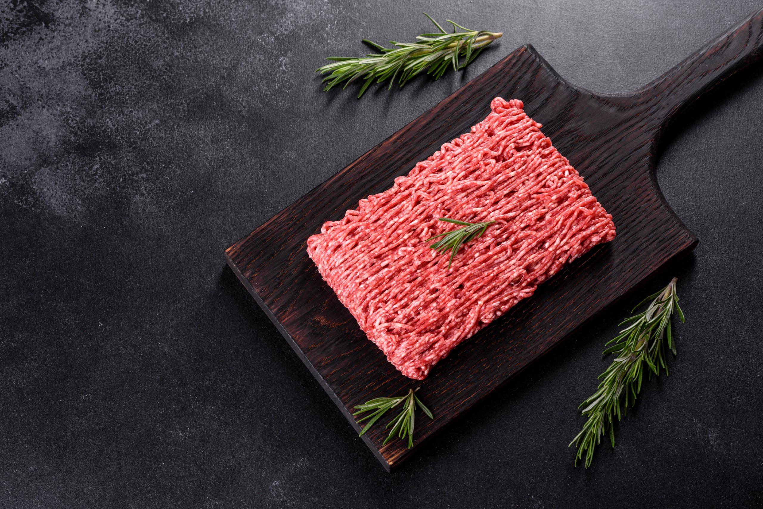 Platos sabrosos con carne picada