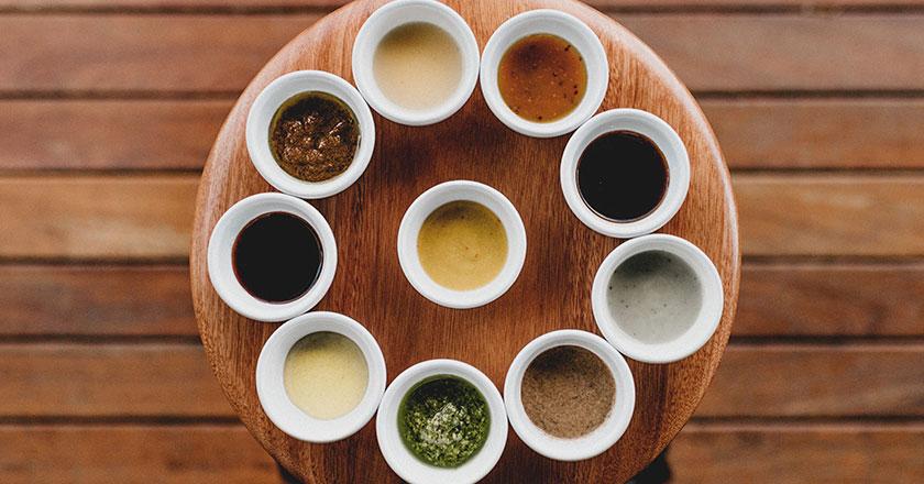 tipos de salsas para carne