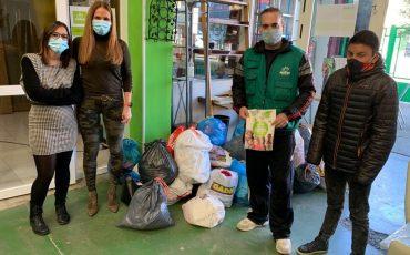Donacion 120 kg ropa