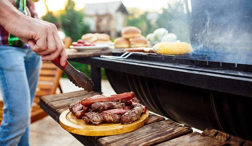 cocinar carne barbacoa