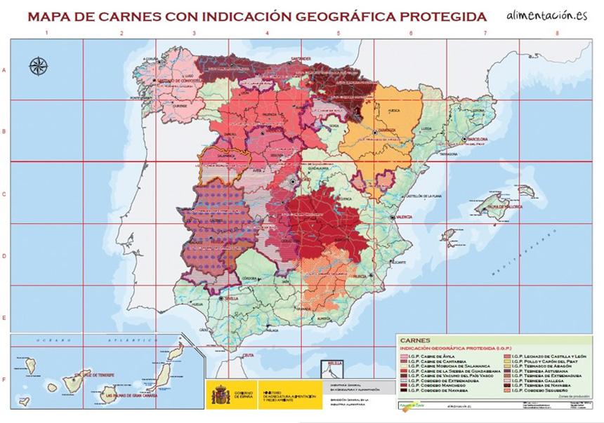 carnes con garantía de origen en España